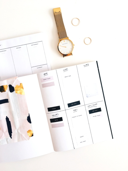 day planner for productivity, organization, lifestyle